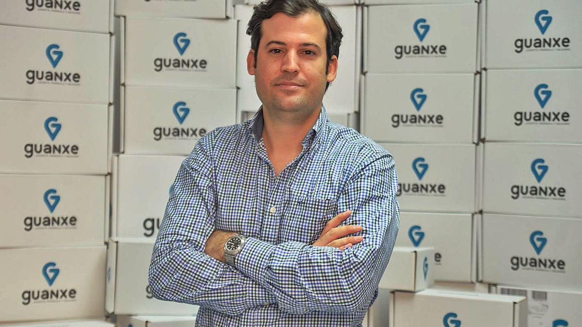 Luis Hernáiz Falcón, fundador de Canary Flash y C.E.O. de  'Guanxe.com'. José Carlos Guerra