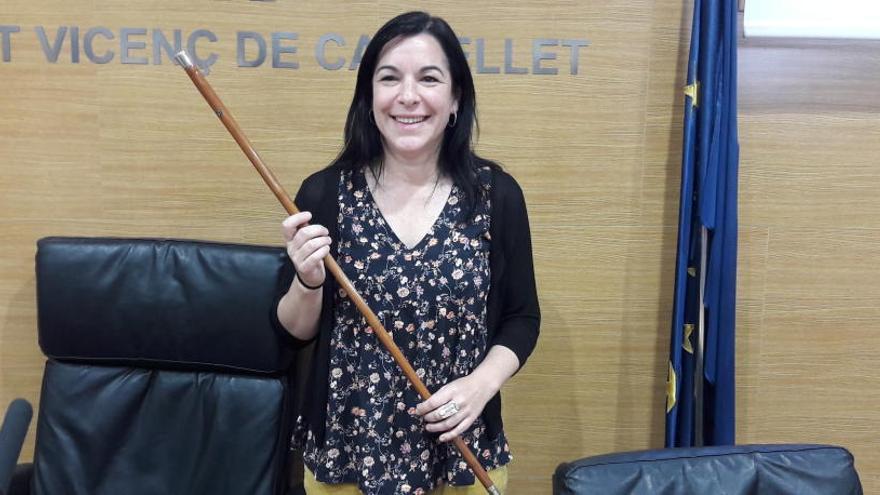 Delgado accedeix a l'alcaldia de Sant Vicenç per liderar un govern «honest i transparent»
