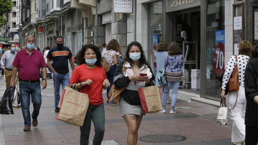 Oviedo permitirá abrir los comercios del centro el día de San Mateo y el 12 de octubre de 2021