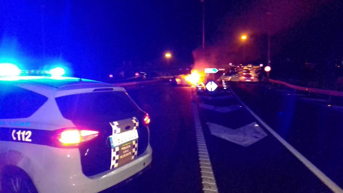 Un fallecido en un accidente en Alicante