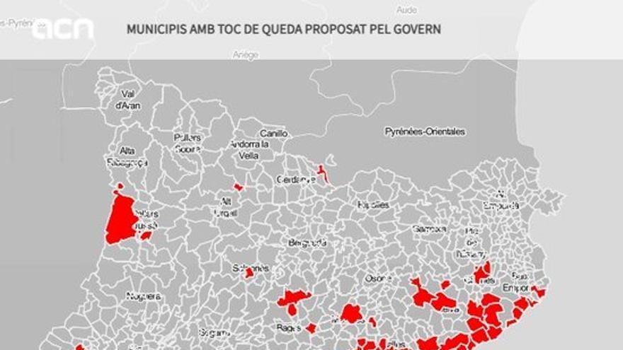 El Govern amplia el toc de queda a 161 municipis i preveu demanar-lo almenys tres setmanes seguides