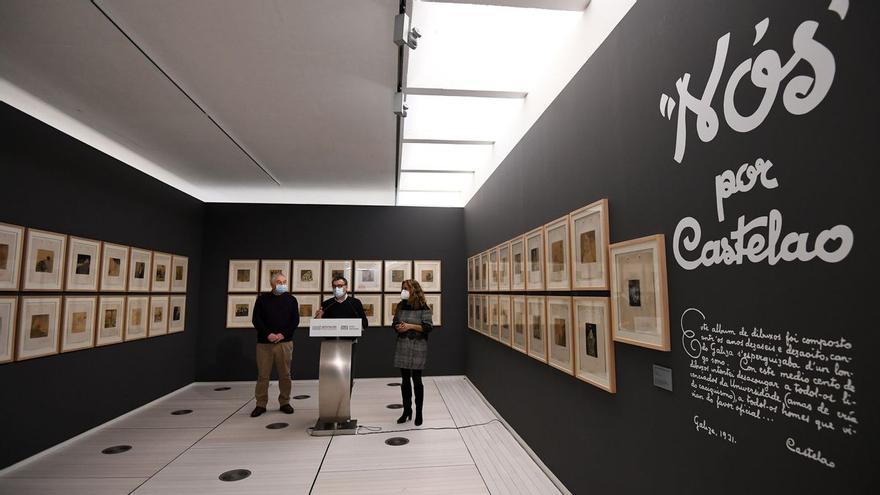 La familia Lino, propietaria del Álbum Nós de Castelao, vendió los originales al Museo por 650.000 euros