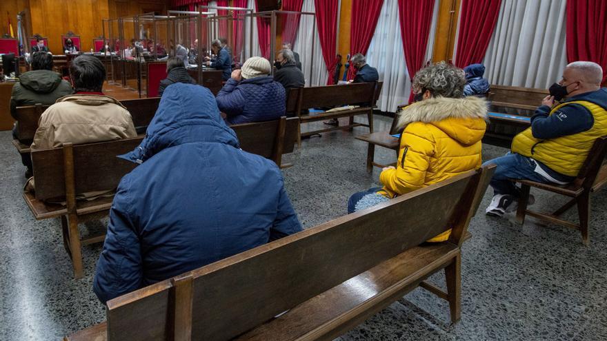 Uno de los acusados de la Zamburiña, detenido en Vigo por quebrantamiento