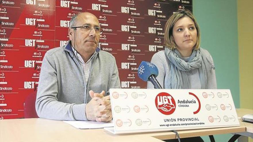 """UGT se manifiesta contra """"el deterioro preocupante"""" de los centros públicos"""