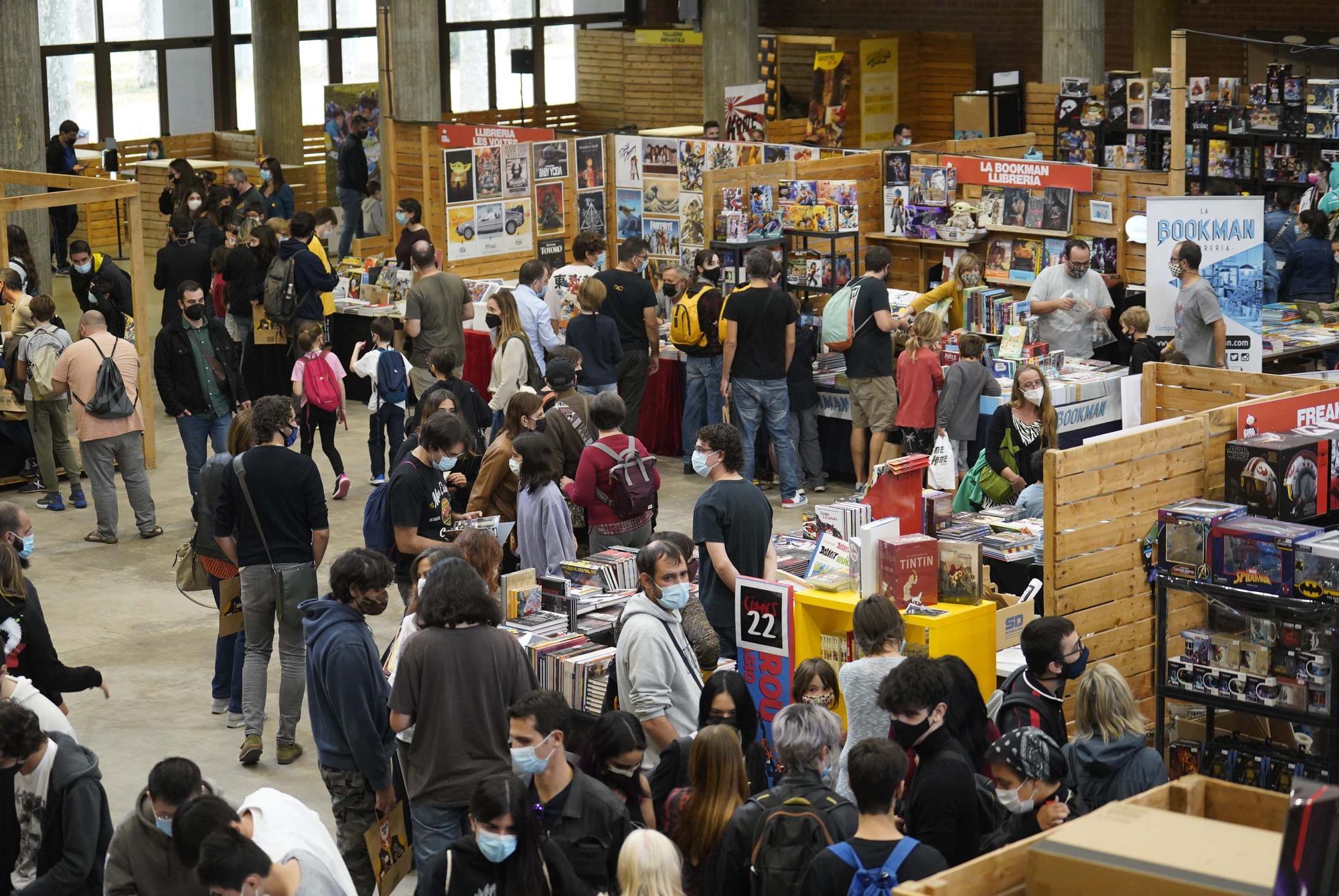 El Girocòmic tanca la cinquena edició amb més de 7.000 assistents