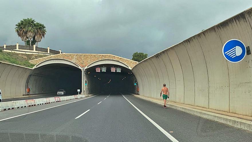 De paseo por el túnel