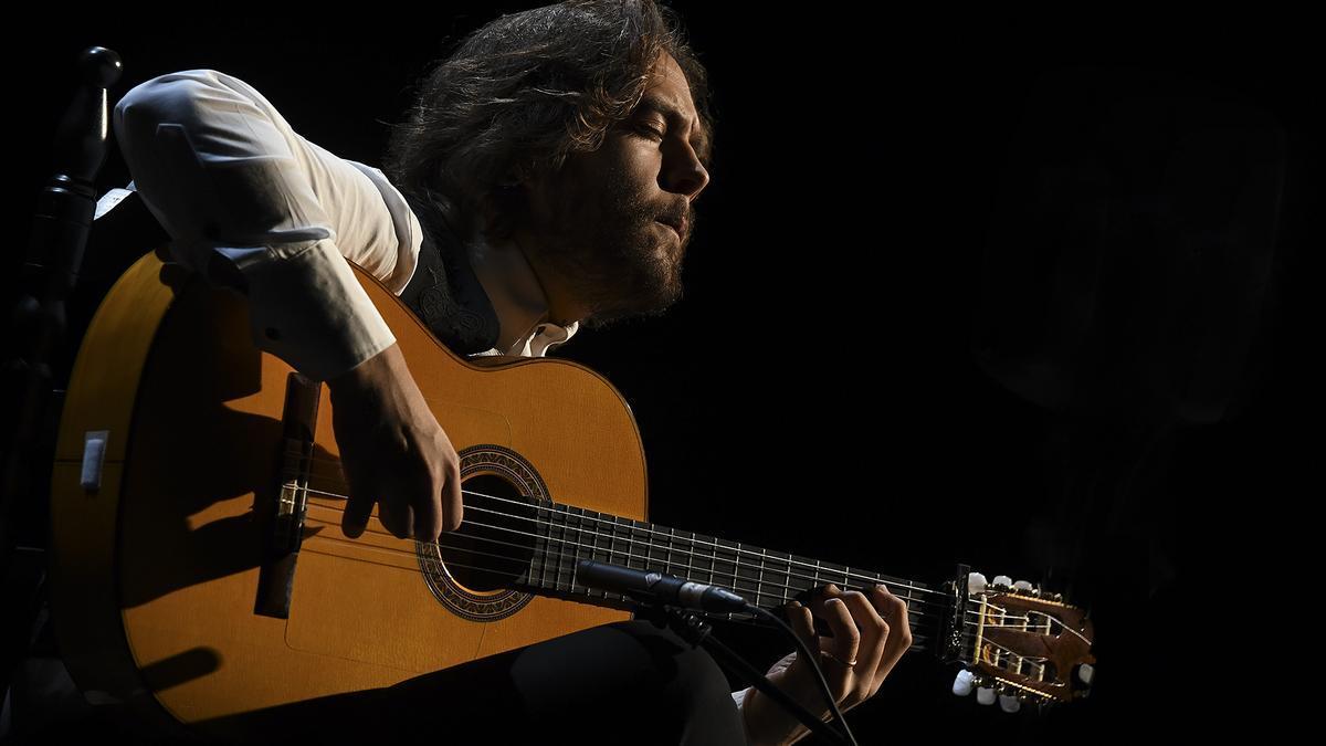 El guitarrista flamenco Luis Medina.