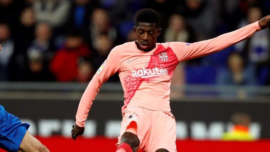 Dembélé llega dos horas tarde al entrenamiento del Barça
