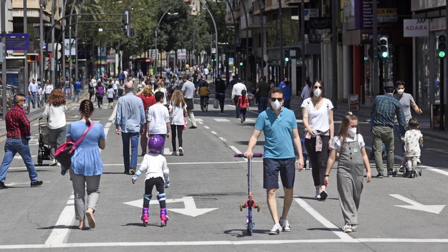La Gran Vía de Murcia será peatonal los domingos desde el 10 de octubre