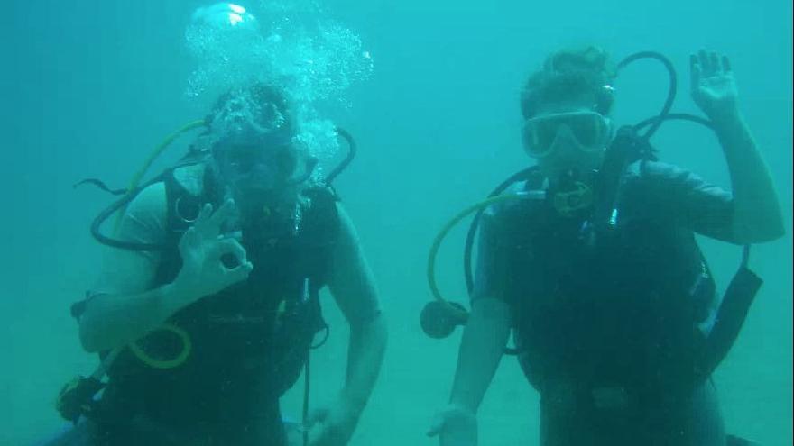 Un proyecto europeo promueve los bautismos de buceo en Cabo de Palos y Cabo Tiñoso