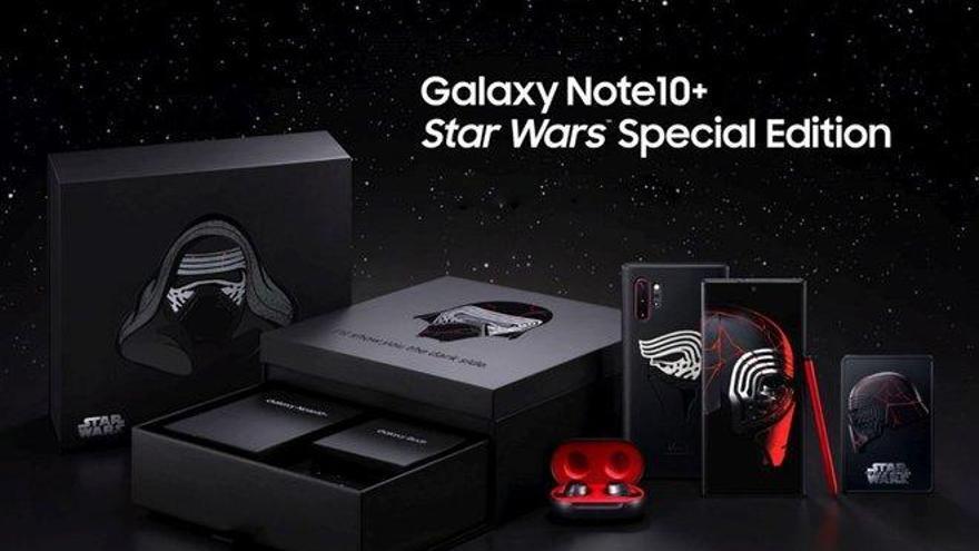 Edición galáctica del Samsung Galaxy Note10+
