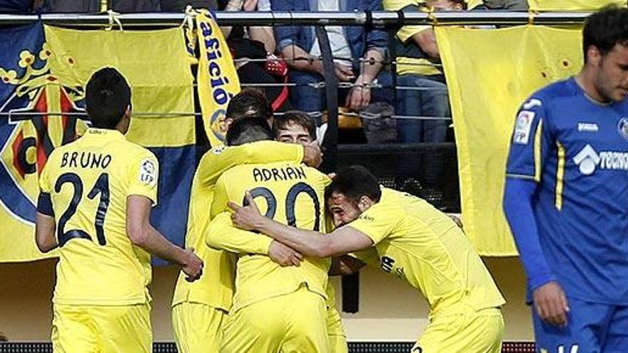 El Villarreal sigue sumando por la cuarta plaza a costa del Getafe