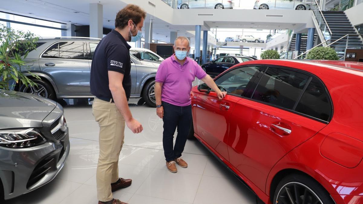 Córdoba es la provincia andaluza que experimenta una menor caída en la venta de vehículos en agosto