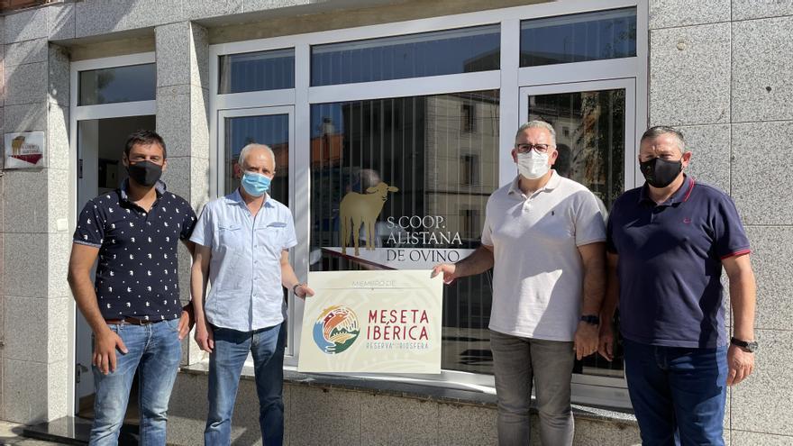 La cooperativa Alistana del Ovino se une a la marca de la Biosfera Meseta Ibérica