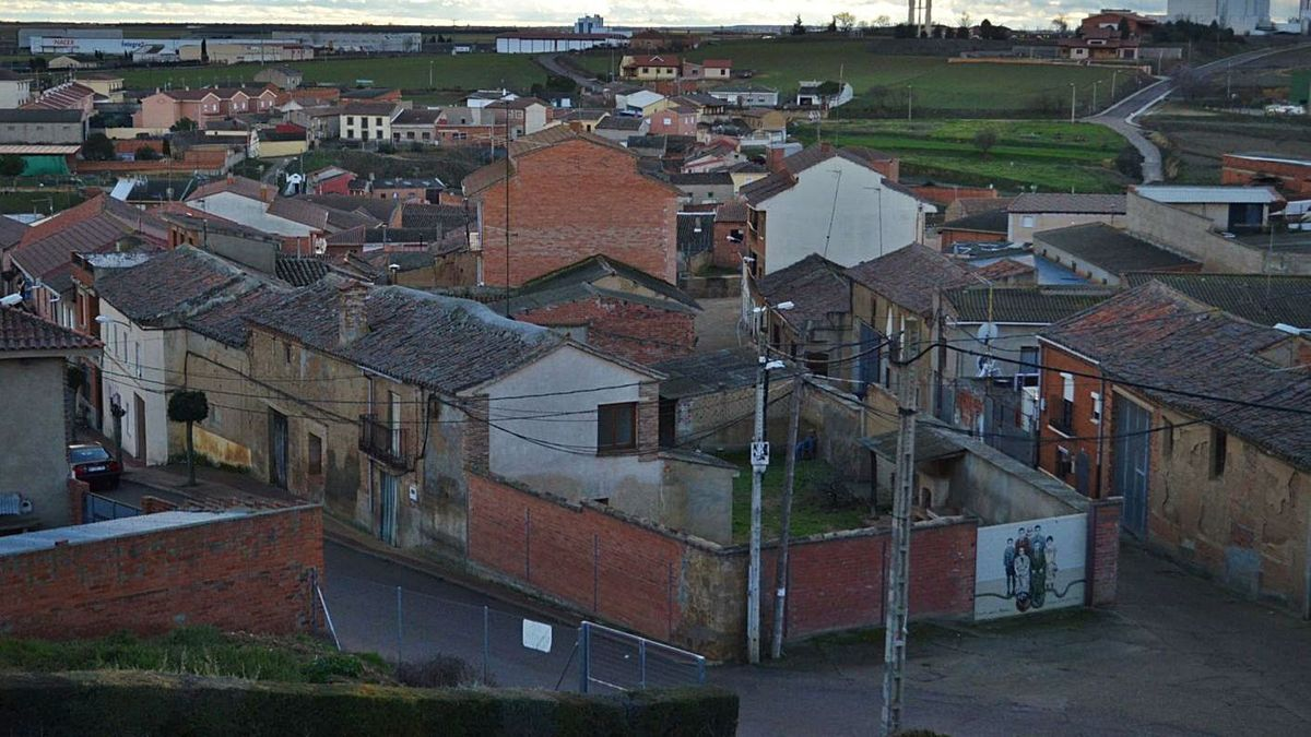La localidad zamorana de Castrogonzalo.