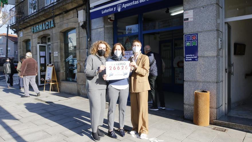 La Lotería Nacional deja un premio de 300.000 euros en Redondela