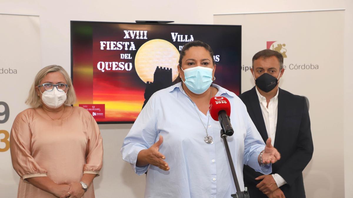 Presentación de la Feria del Queso de Zuheros.