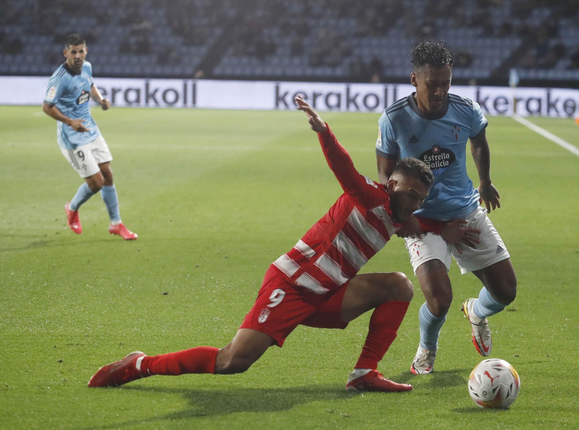 El Celta salva los muebles en los últimos minutos con un gol de Denis Suárez