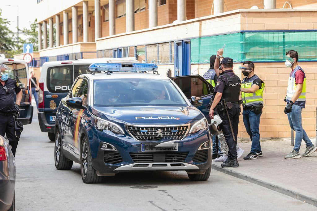 Intervención policial. Menudeo, gallos y tortugas en Ministriles, Lorca-3635.jpg