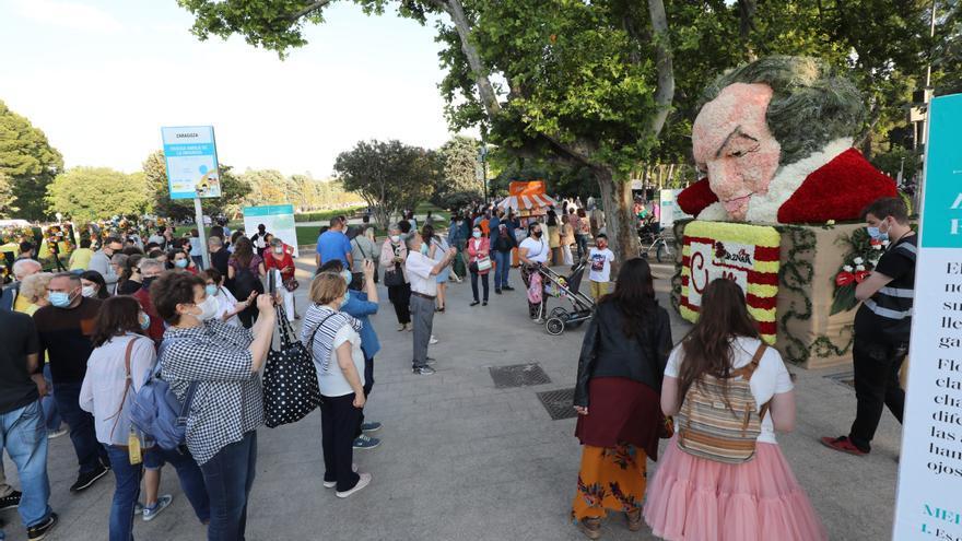 Llenazo en el Parque Grande el primer día del festival ZGZ Florece