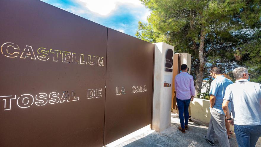 Benidorm impulsa el Tossal de La Cala como nuevo punto de atracción turística