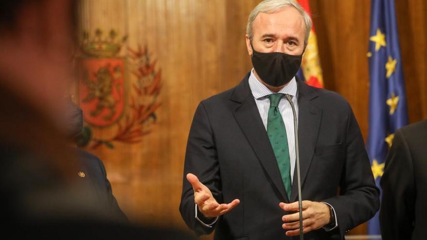 Azcón avisa: no va renunciar a sus exigencias al plan hostelero