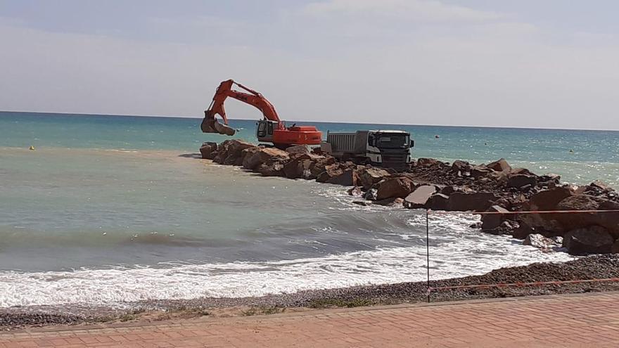 Compromís pide que el Consell gestione el litoral de Almenara y no Costas