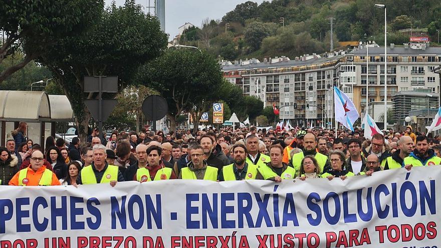Galicia, epicentro de manifestaciones en España con una media de nueve cada día
