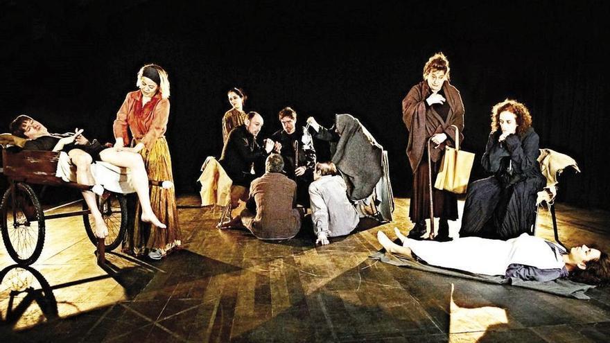 María Adánez y Marzoa dan vida a un clásico de Valle-Inclán en el Teatro Afundación