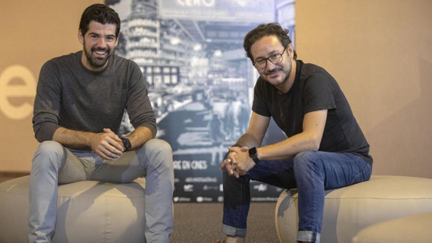 """Miguel A. Muñoz y Carlos Santos: """"Garci es el Rey León y poder formar parte  de su mundo es lo más"""""""