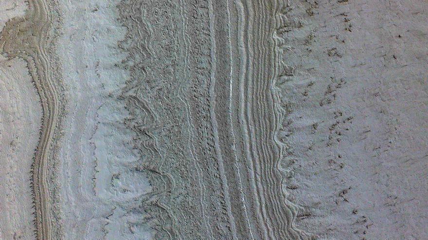 Los científicos descartan que haya agua en Marte