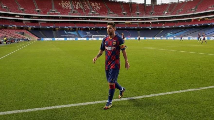 Messi comunica a Koeman que es veu més fora que dins del Barça