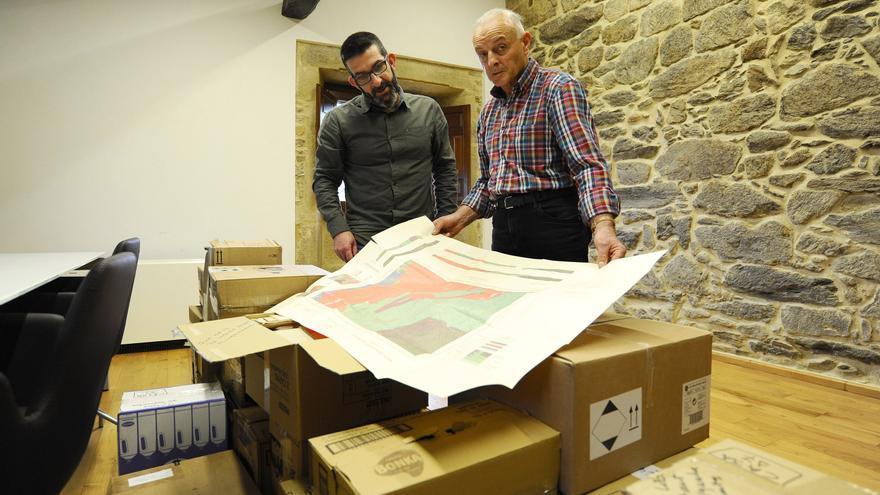 Los mapas perdidos de Hilgen, ante la Valedora do Pobo