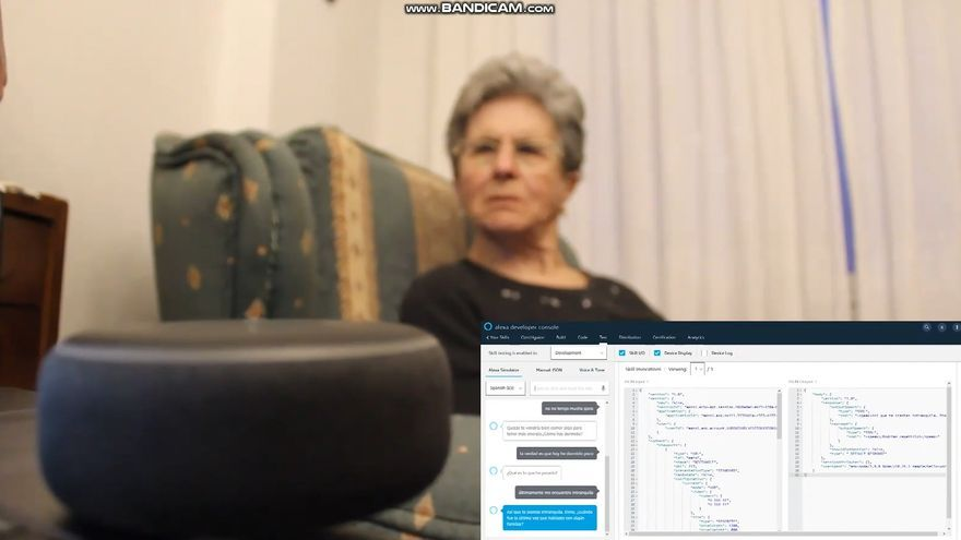 Un asistente virtual para evaluar el estado de personas mayores y dependientes que viven solas, premiado en el UniOvi Innovation Skills