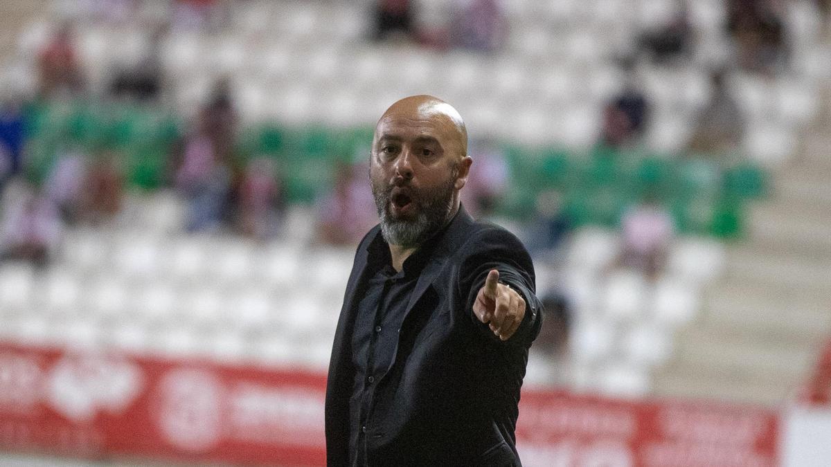 David Movilla, técnico del Zamora CF