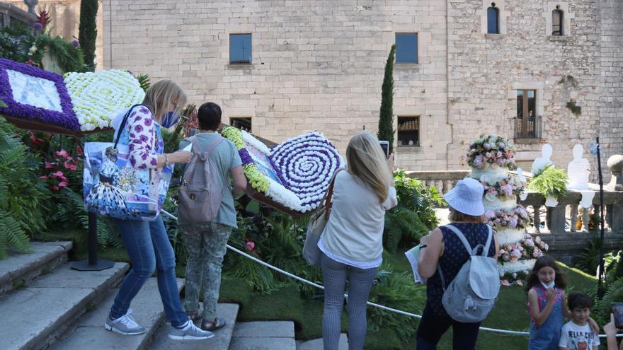 La restauració de Girona omple els calaixos per Temps de Flors