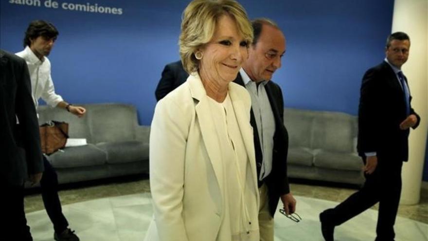 IU pedirá al juez que investigue a Aguirre por el Canal Isabel II