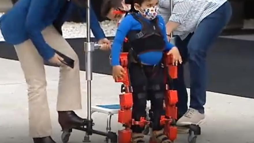 El primer exoesqueleto infantil del mundo es español