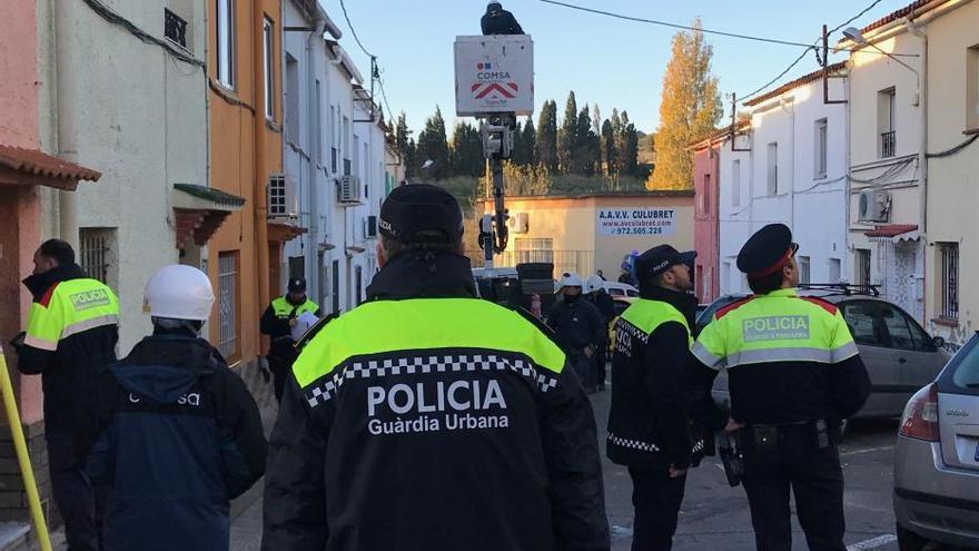 El macrodispositiu policial de Figueres finalitza amb 110 fraus de llum detectats i un detingut