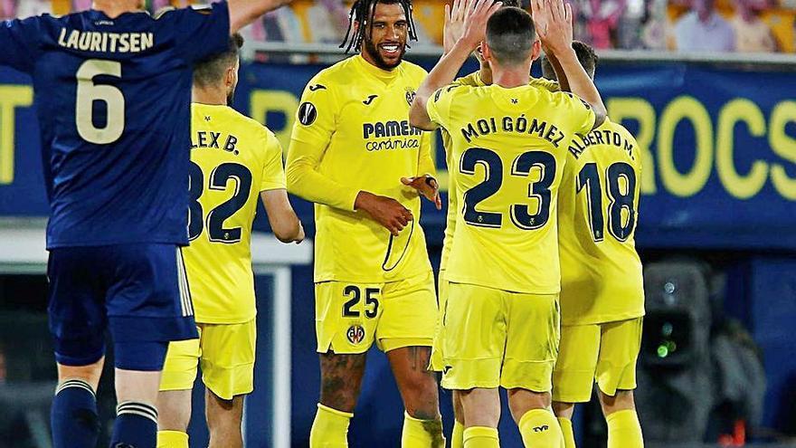 El Villarreal alcanza las semifinales y el Granada cae en Mánchester