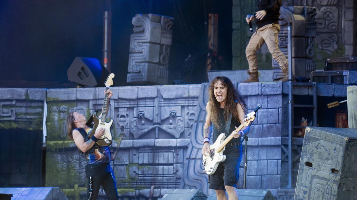 Iron Maiden publicarán el 3 de septiembre nuevo disco de estudio, 'Senjutsu'.