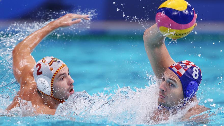 España jugará los cuartos de waterpolo contra EEUU tras ganar a Croacia y terminar primera
