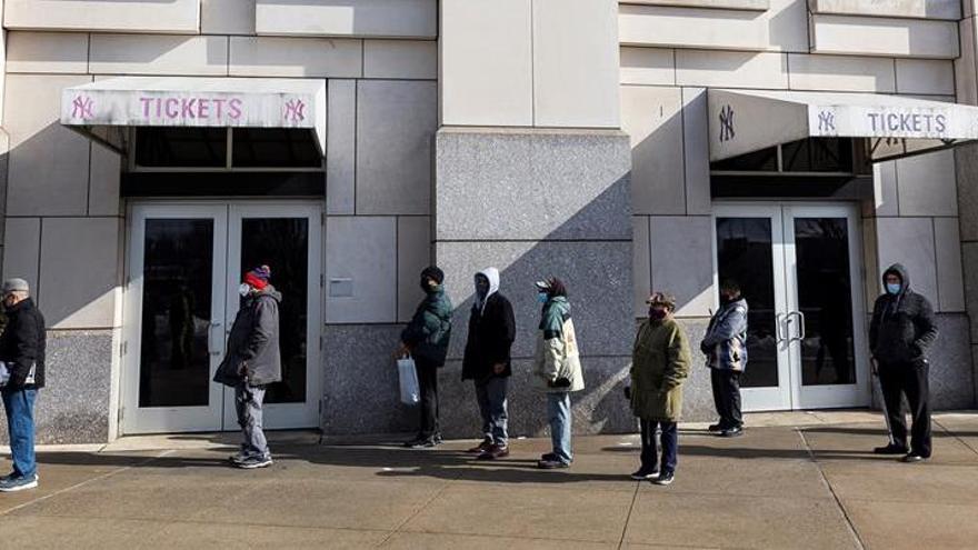 Los Yankees convierten su estadio en un centro de vacunación