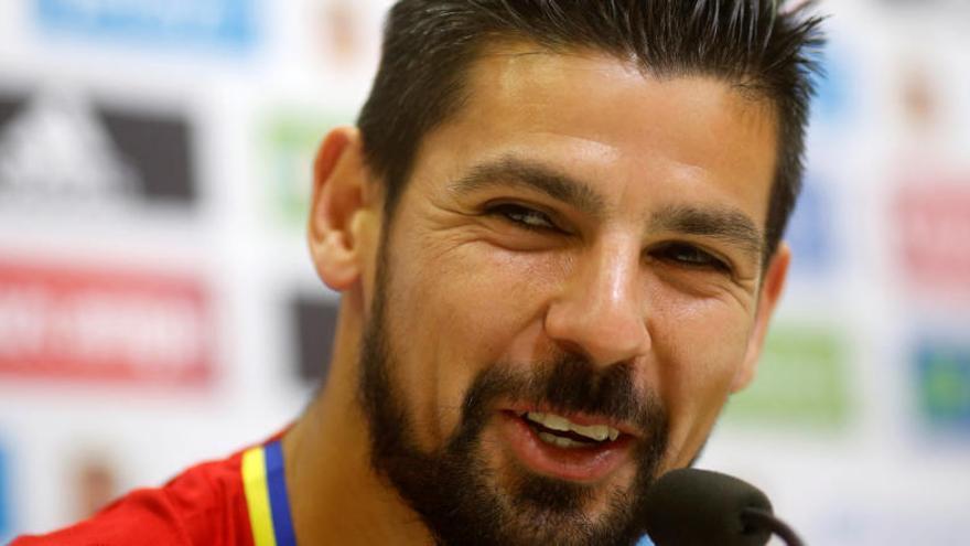 "Nolito:  ""Meter goles con España te cambia todo"""