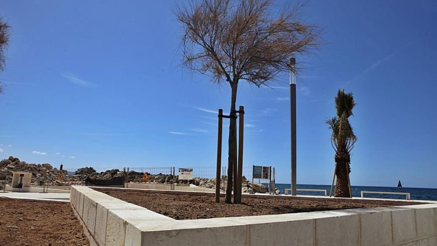 Der neue Hafen von Molinar kann sich schon sehen lassen