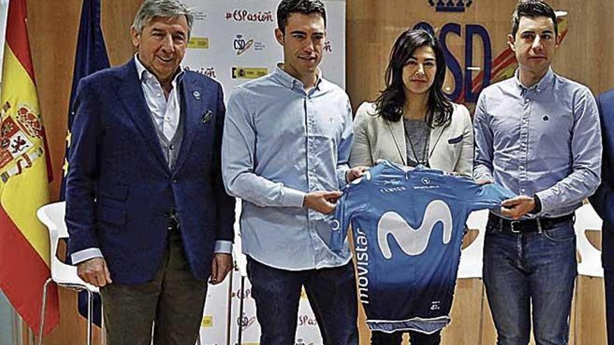 "Albert Torres: ""Unirse al Movistar es superespecial"""
