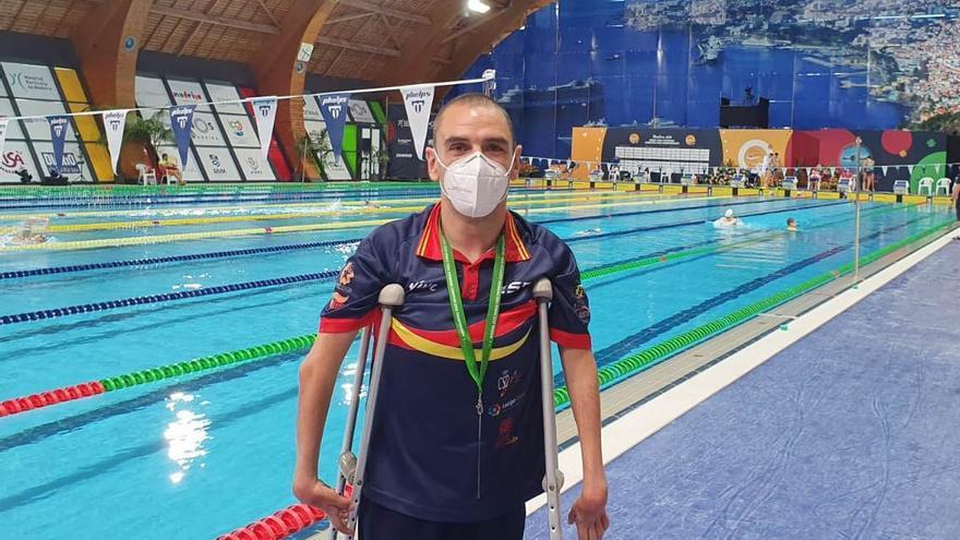 Tajuelo deja el Europeo con una mínima paralímpica y tres cuartos puestos