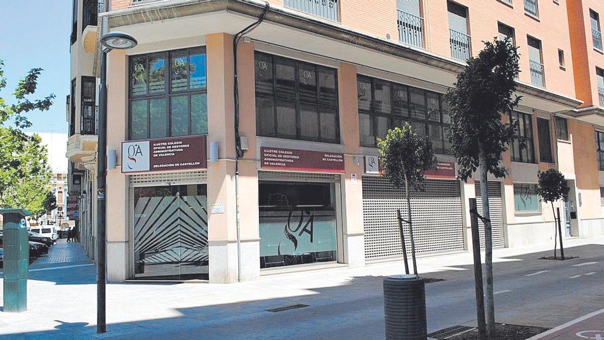 Sede de la delegación de Castellón del Colegio de GA de Valencia.