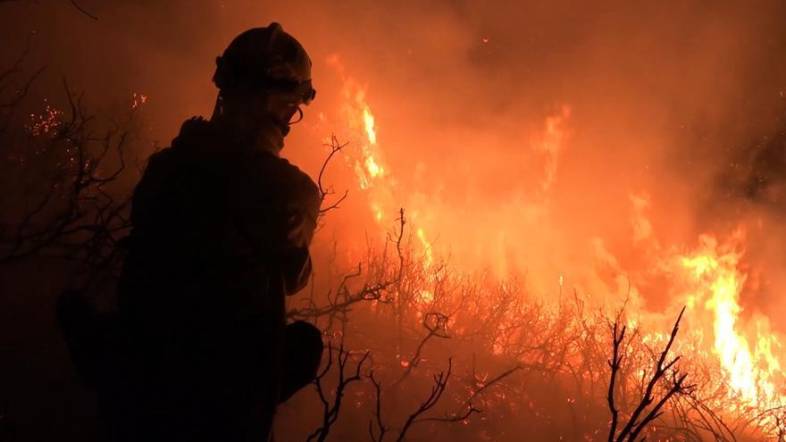 ÚLTIMA HORA | Los rayos provocan dos incendios en Castellón, que ya están extinguidos