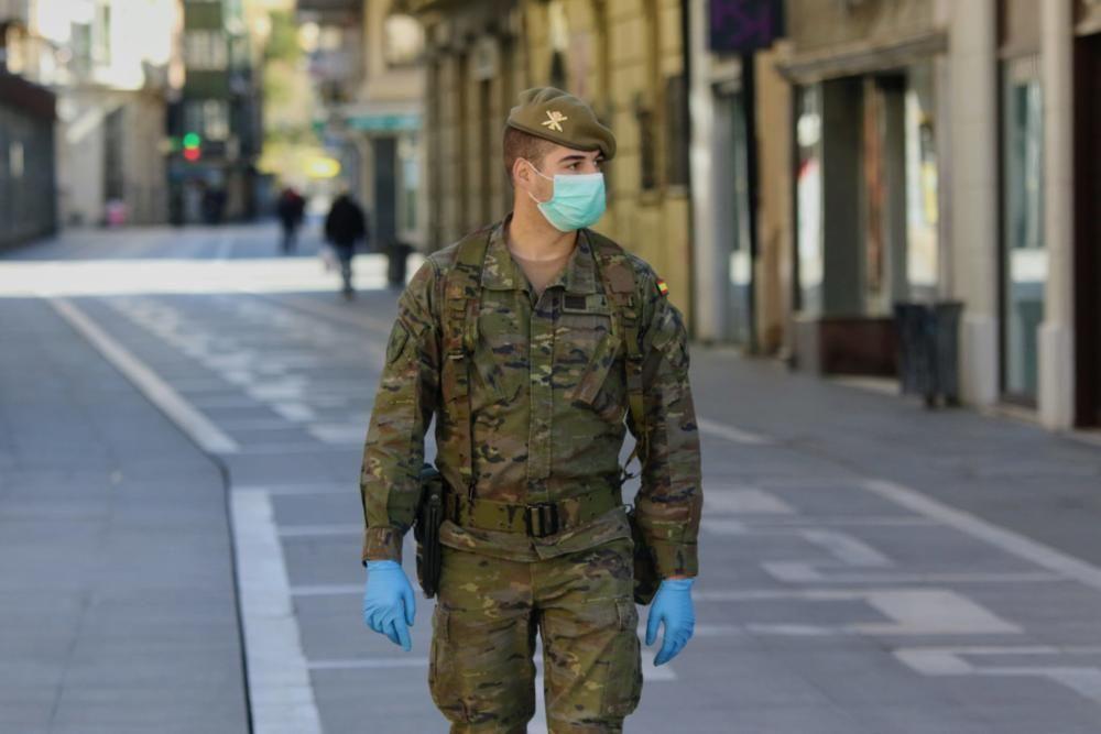 Regimiento de Artillería y Lanzacohetes en Zamora.